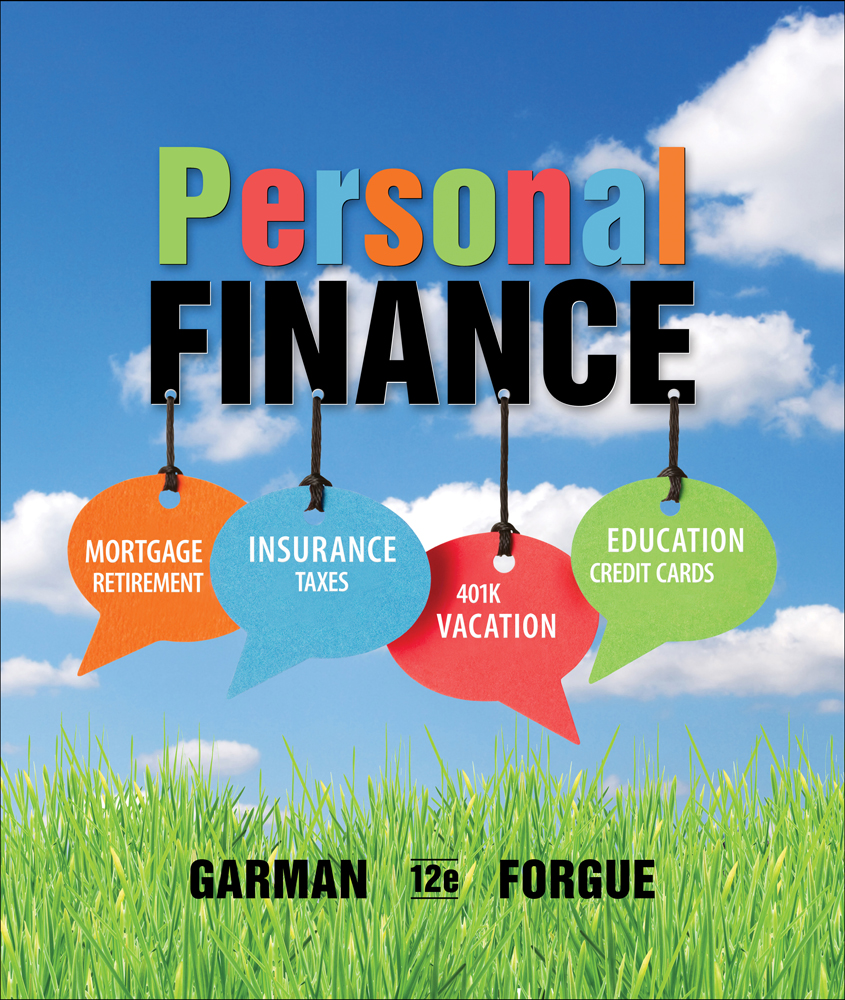 personal finance edition 12th isbn garman thomas cengage quotes books forgue money amazon financial textbook ebook booksamillion economics manuals bank