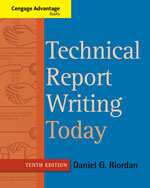 Technical Report Writing Today 9781133607380 Cengage