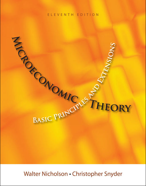 eBook: Microeconomic Theory: Basic Principles and Extensions