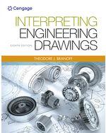 Interpreting Engineering Drawings 9781133693598 Cengage