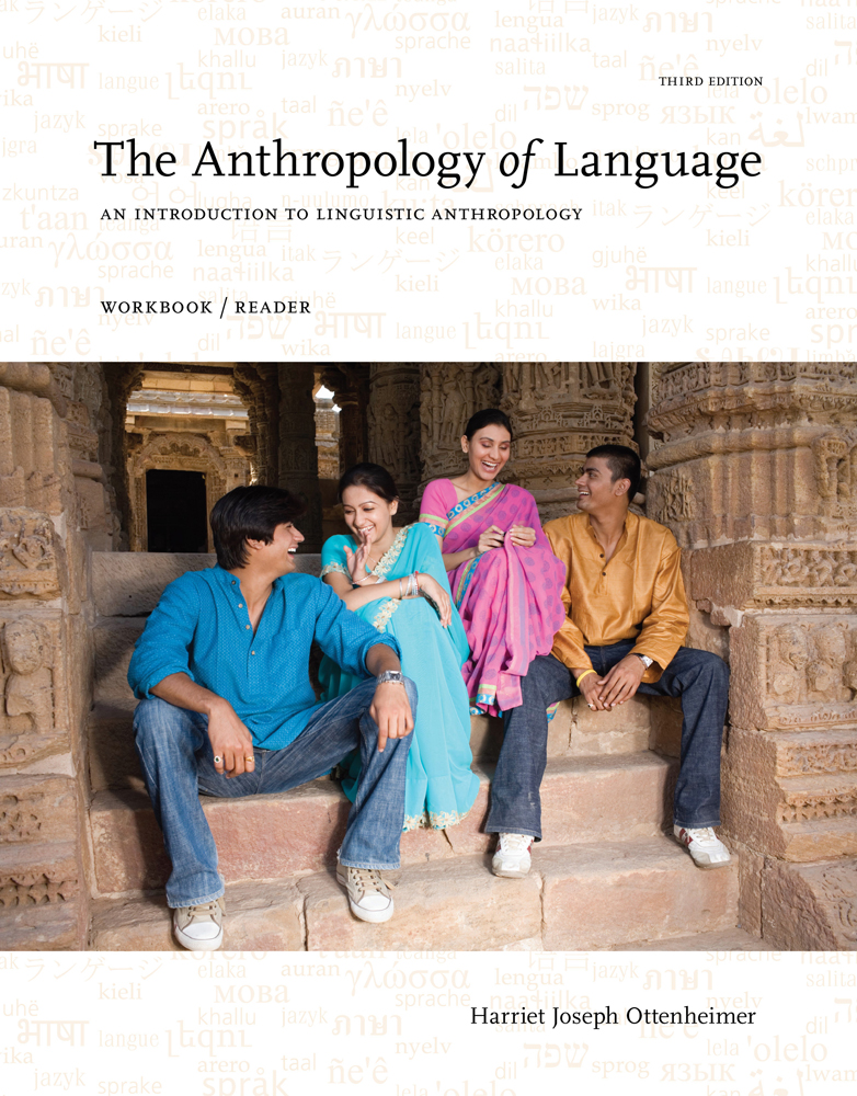 eBook: The Anthropology of Language: An Introduction to Linguistic Anthropology Workbook/Reader