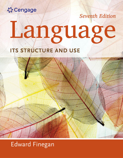 An introduction to language 9781428263925 cengage language its structure and use 7th edition fandeluxe Gallery