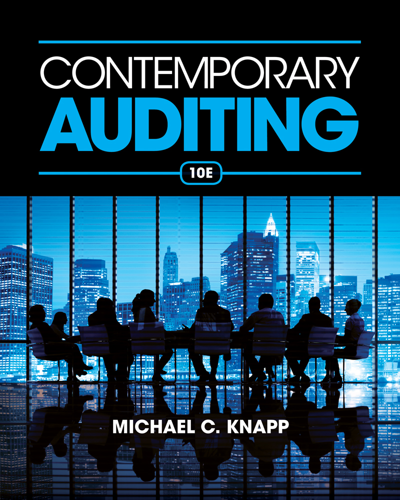 The audit process 9781408081709 cengage contemporary auditing fandeluxe Gallery