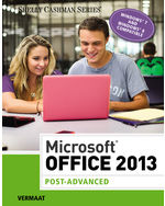 9781285166025 cengageus microsoft office 2013 post advanced 1st edition fandeluxe Gallery