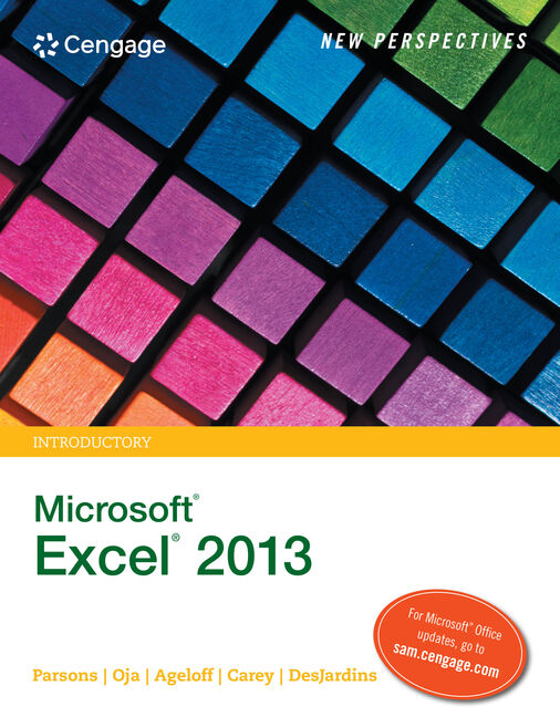 New perspectives microsoft office 365 excel 2016 9781305880405 new perspectives on microsoft excel 2013 brief fandeluxe Image collections