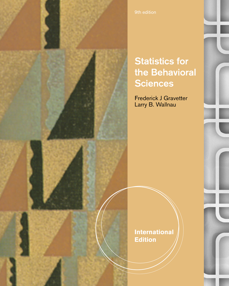 eBook: Statistics for the Behavioral Sciences, International Edition