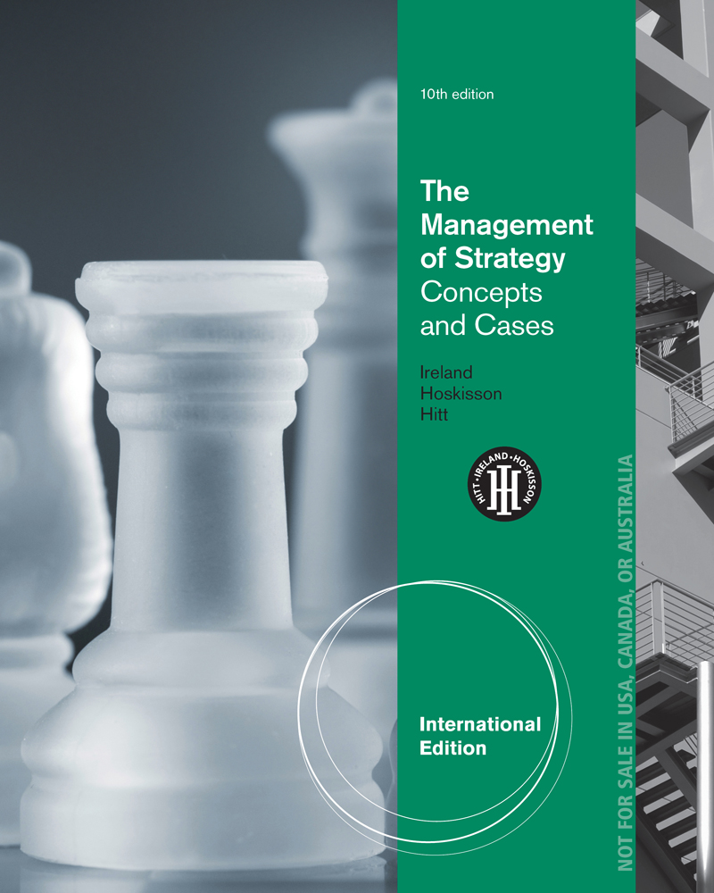eBook: The Management of Strategy: Concepts and Cases, International Edition