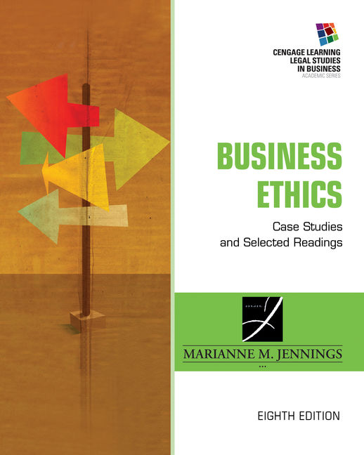Business ethics 9781305972544 cengage business ethics case studies and selected readings 8th edition fandeluxe Gallery