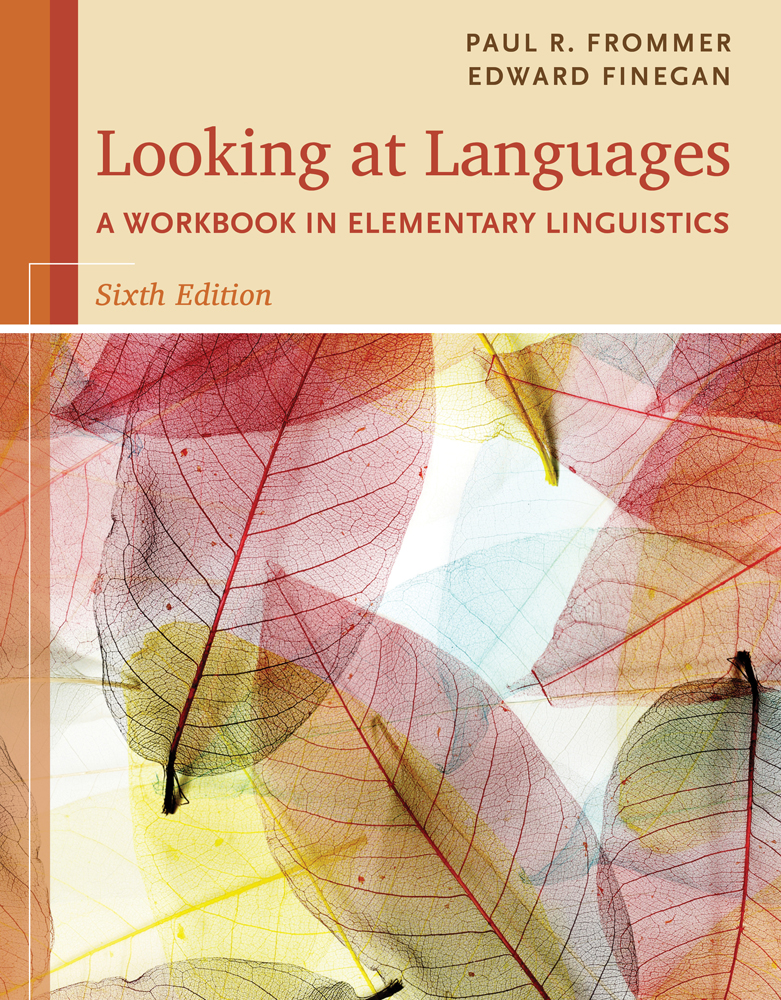 An introduction to language 9781337559577 cengage ebook looking at languages a workbook in elementary linguistics fandeluxe Image collections