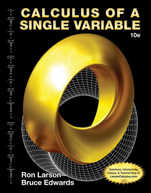 eBook: Calculus of a Single Variable