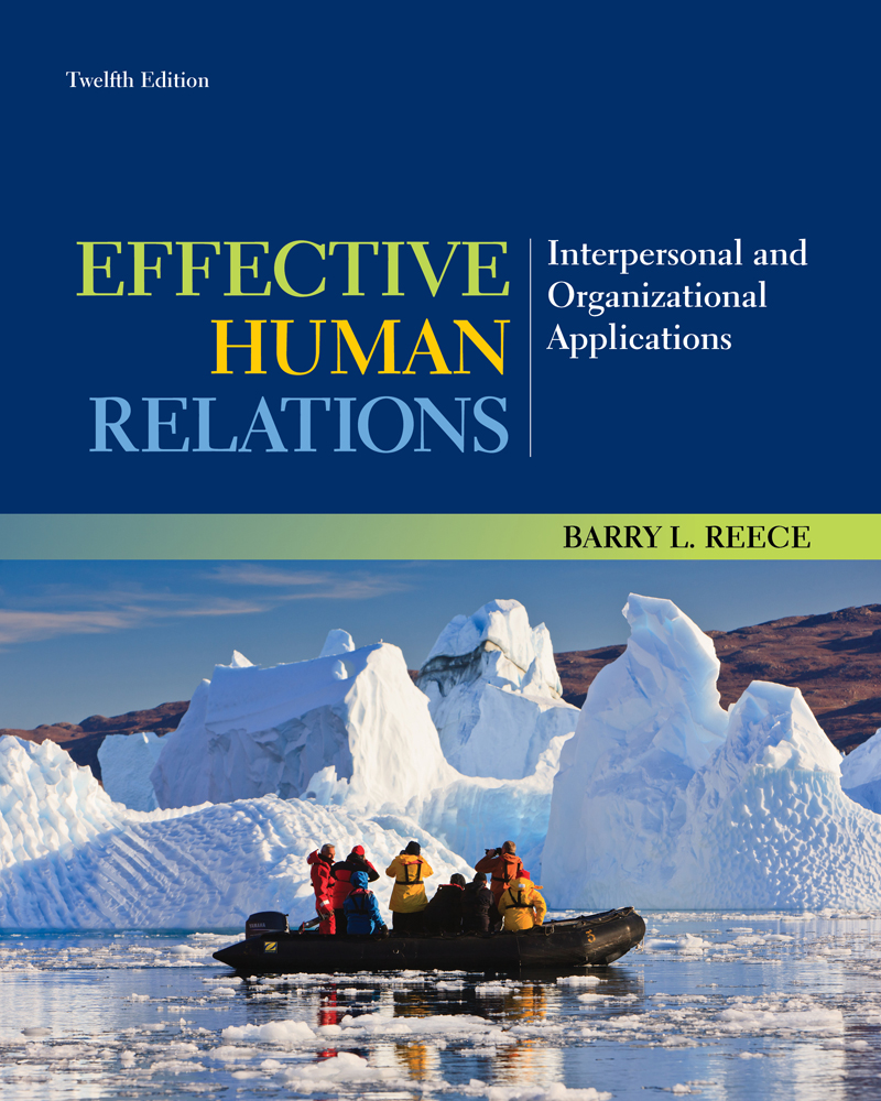 Ebook Effective Human Relations Interpersonal And