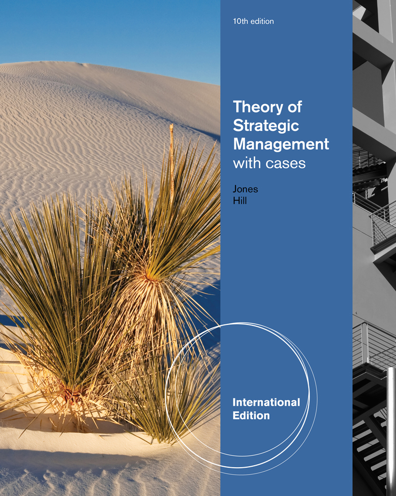 Buy books strategic management theory & cases an integrated approach ….