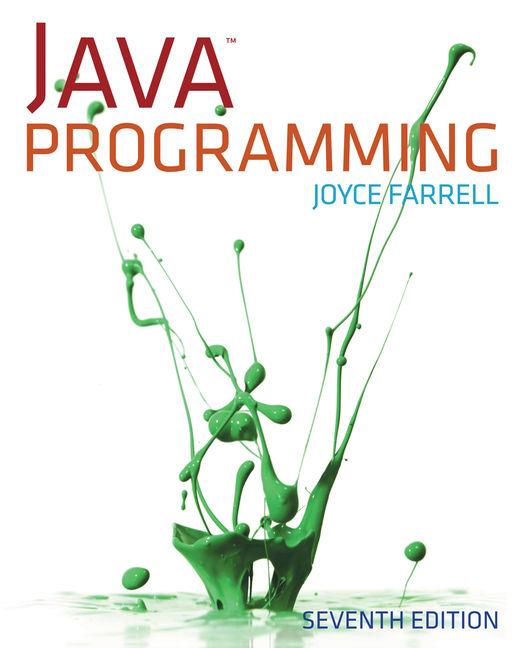 eBook: Java Programming - 9781285662428 - Cengage