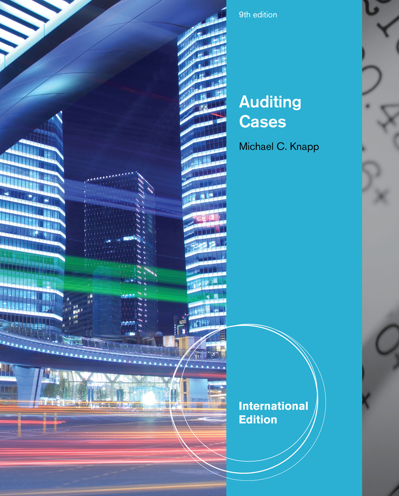 eBook: Auditing Cases, International Edition