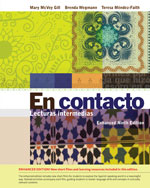 EPack En Contacto Enhanced Lecturas Intermedias 9th ILrnTM Heinle Learning Center 4 Terms 24 Months Instant Access