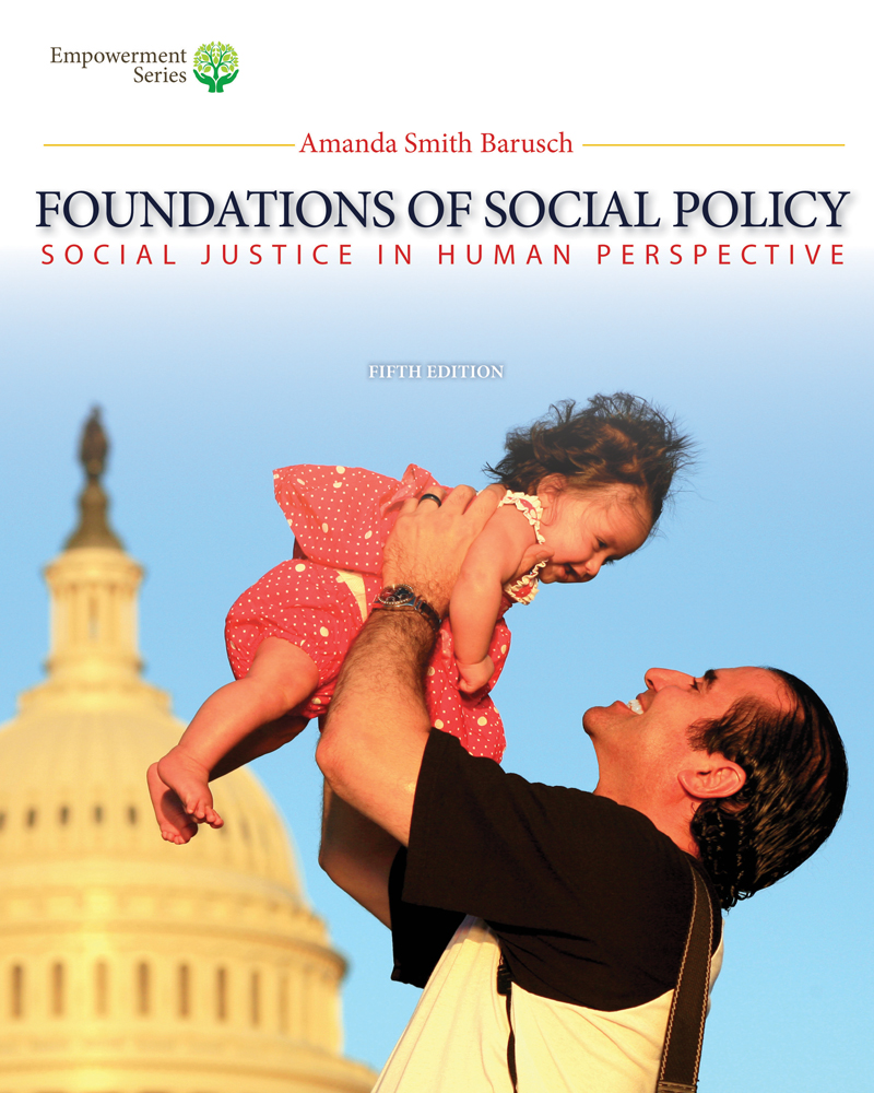 Brooks/Cole Empowerment Series: Foundations of Social Policy (Book Only)
