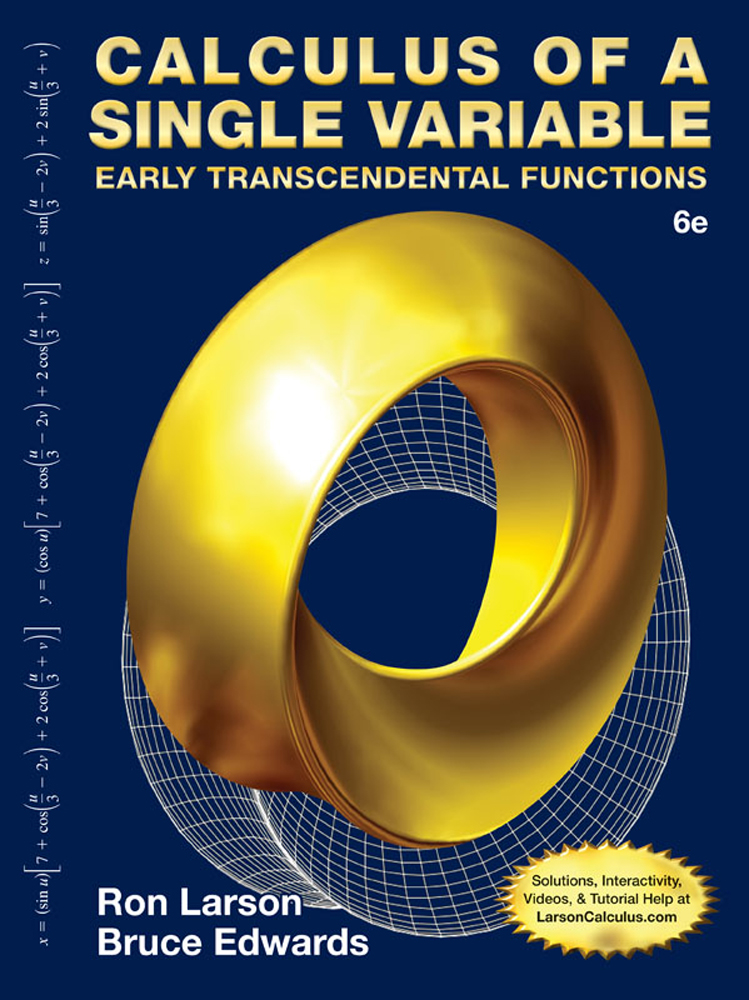 instructor solution manual multivariable calculus 6e