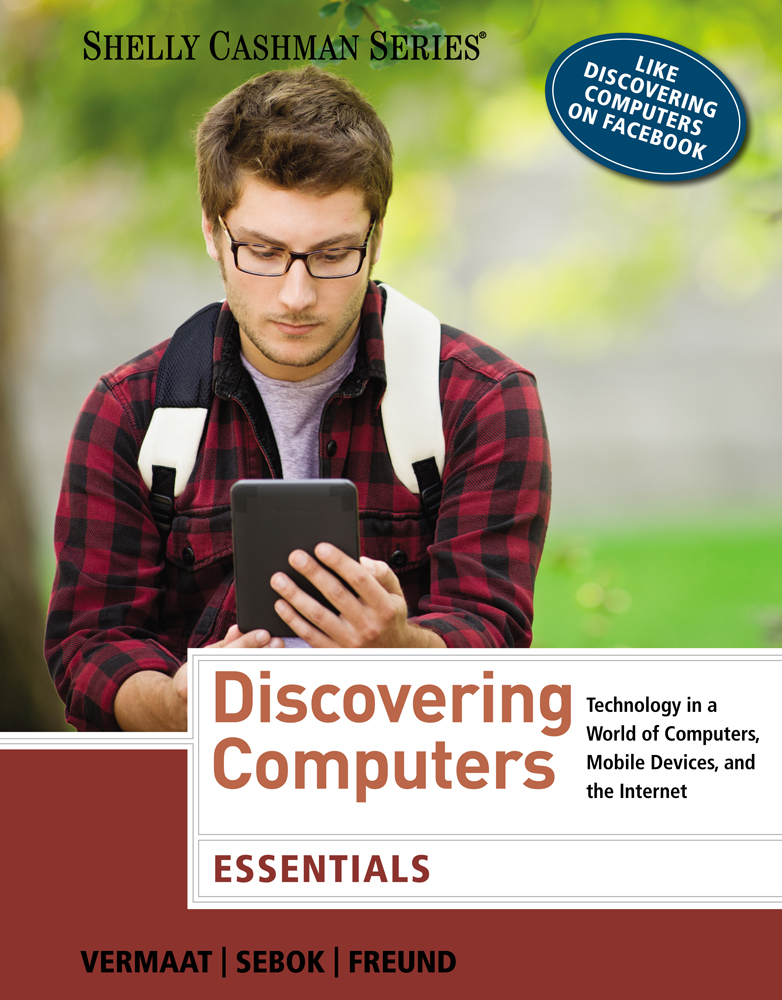Ebook discovering computers 2016 9781305808997 cengage ebook enhanced discovering computers essentials 1st edition ebook discovering computers essentials fandeluxe Images