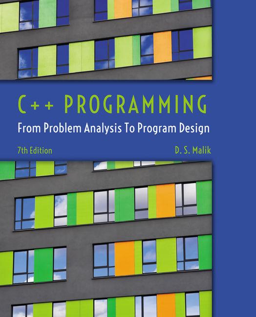 C++ Programming - 9781285852744 - Cengage