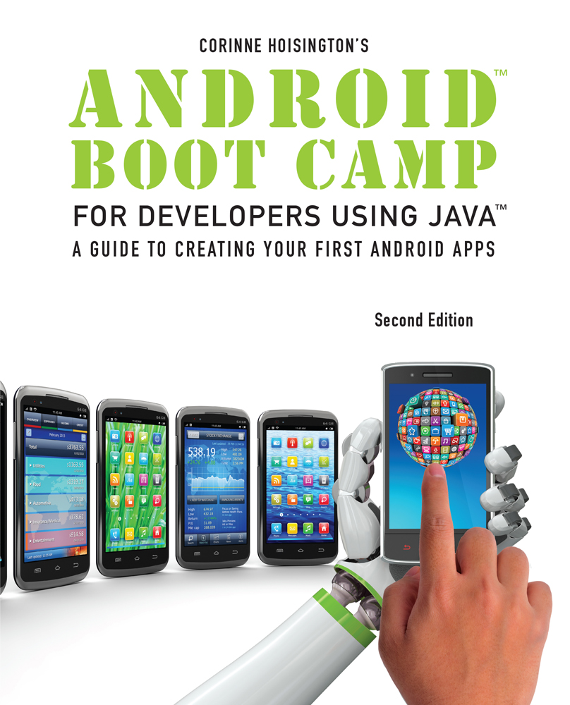 Android Boot Camp For Developers Using Java 9781285856834 Cengage
