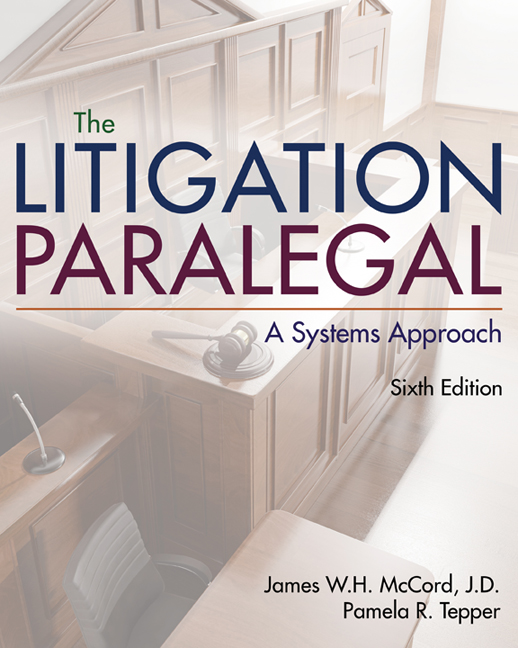 The Litigation Paralegal