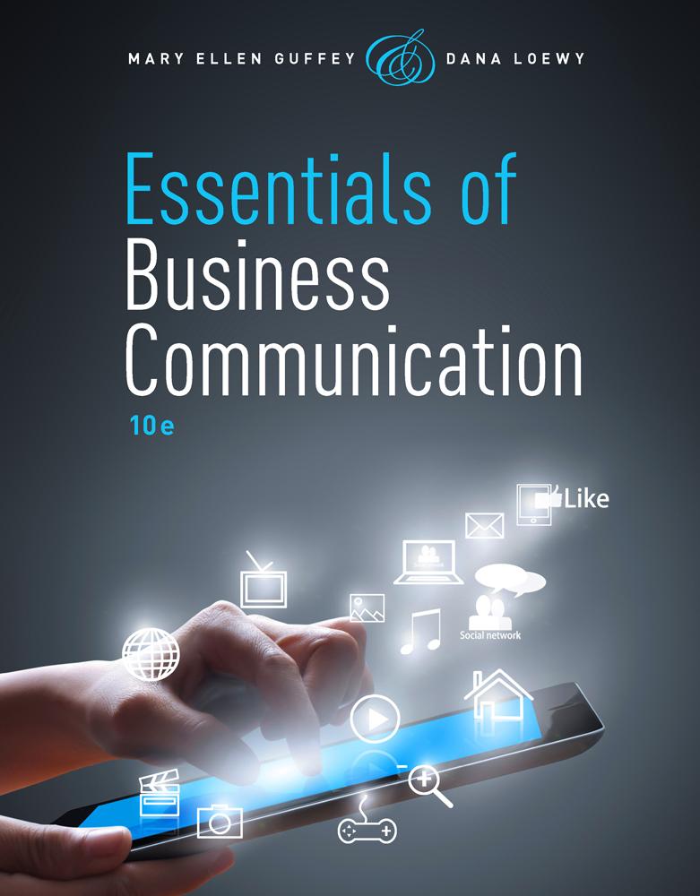 Business Communication 9781285094069 Cengage