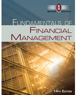 Fundamentals Of Financial Management 9781285867977 Cengage