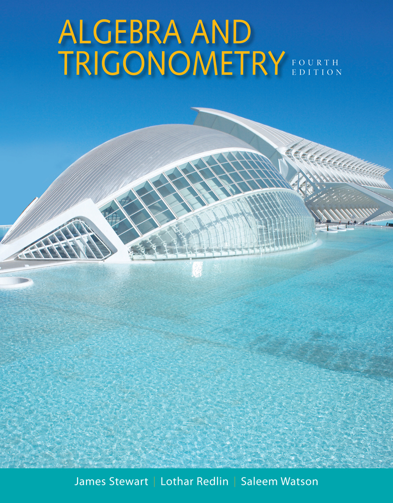 Algebra And Trigonometry Cengage
