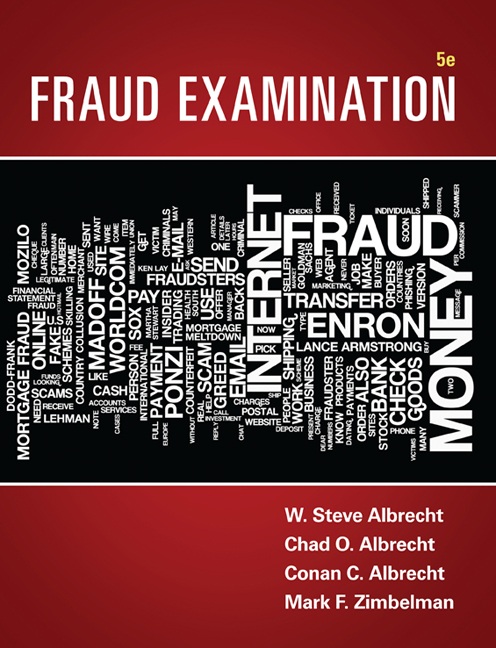 The audit process 9781408081709 cengage ebook fraud examination fandeluxe Gallery