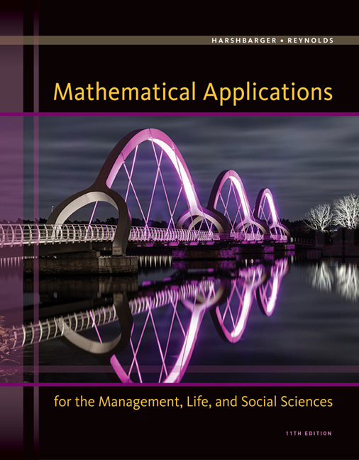 Mathematical applications for the management life and social mathematical applications for the management life and social sciences fandeluxe Gallery