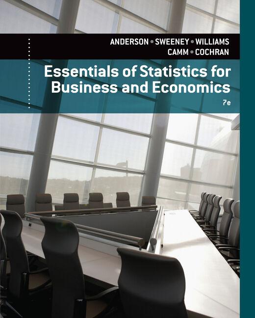 eBook: Essentials of Statistics for Business and Economics
