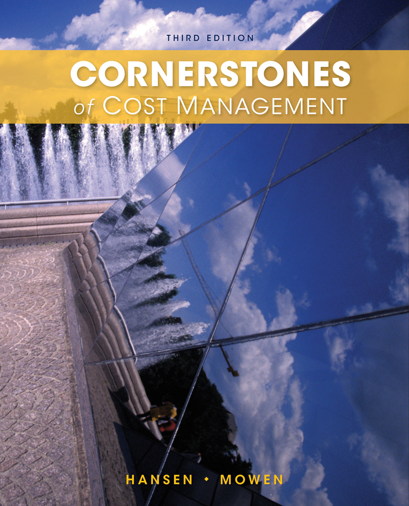 solutions manual to cornerstone of cost management free