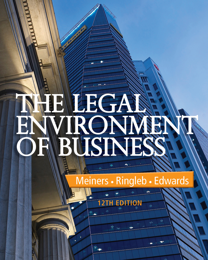 Ebook andersons business law and the legal environment ebook the legal environment of business fandeluxe Gallery