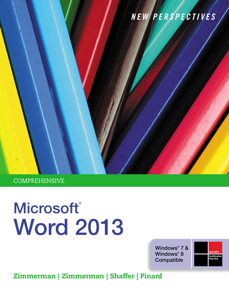Ebook New Perspectives On Microsoft Word 2013 Brief
