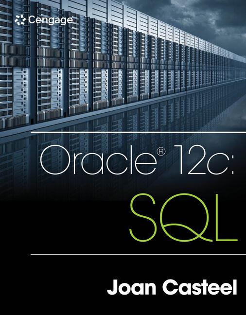Oracle 12c - 9781305251038 - Cengage
