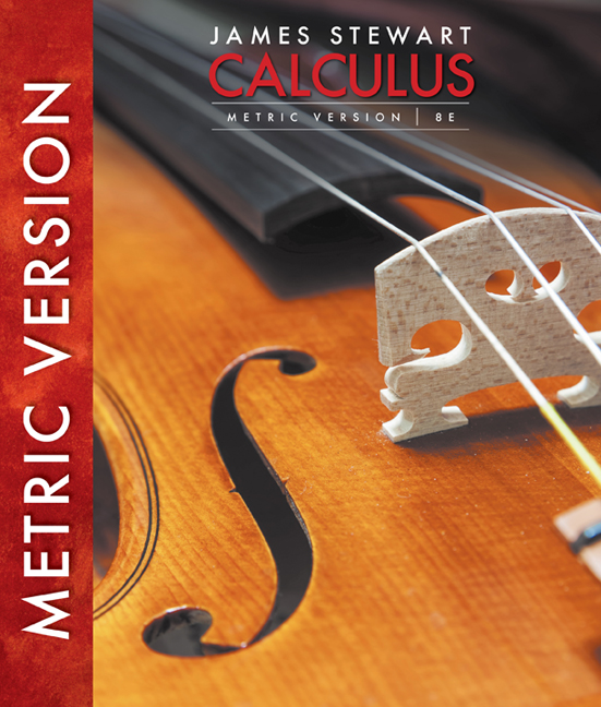 Calculus, International Metric Edition - 9781305266728 - Cengage