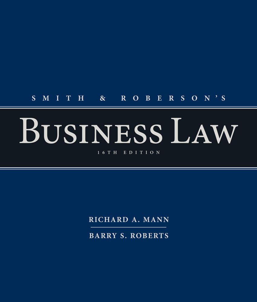 Smith and robersons business law 9781285428253 cengage ebook smith and robersons business law fandeluxe Images