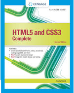 Html5 And Css3 Illustrated Complete 9781305394049 Cengage