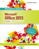 Bundle Enhanced MicrosoftR Office 2013 Illustrated Introductory First Course Discovering Computers C2017 Loose Leaf Version