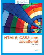 New Perspectives On Html5 Css3 And Javascript 9781305503922