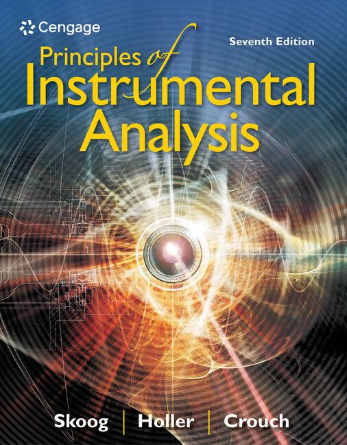 Principles Of Instrumental Analysis 9781305577213 Cengage