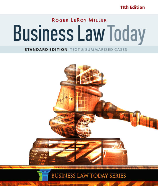 Business Law Today Standard 9781305644526 Cengage
