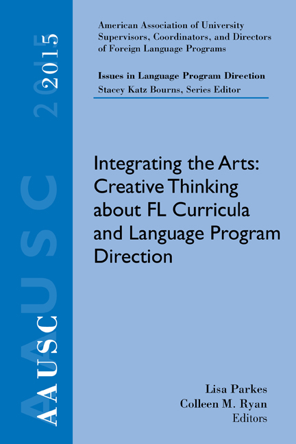 AAUSC 2015 Volume - Issues in Language Program Direction