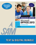 9781305408982 cengageus epack enhanced microsoft office 2013 introductory lms integrated for sam 2013 assessment training and projects with mindtap reader 1 term instant fandeluxe Choice Image