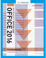 Bundle Illustrated MicrosoftR Office 365 2016 Fundamentals Windows 7 CourseNotes SAM Assessments Trainings And Projects Printed