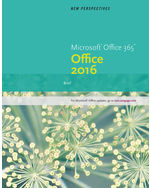 New Perspectives Microsoft Office 365 Office 2016 9781305879171