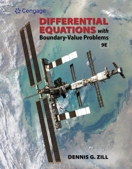 Student Solutions Manual for Zill's Differential Equations with Boundary-Value Problems, 9th