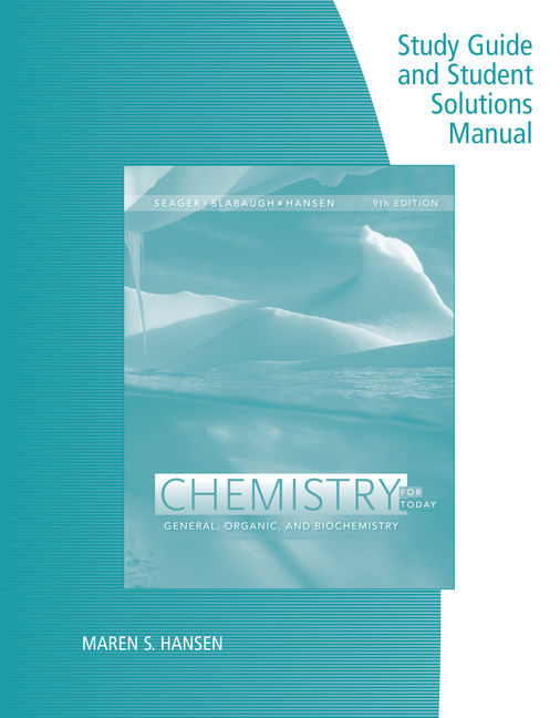 Safety scale laboratory experiments for chemistry for today study guide with student solutions manual for seagerslabaughhansens chemistry for today fandeluxe Image collections