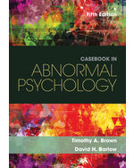 Understanding Abnormal Behavior 9781305088061 Cengage