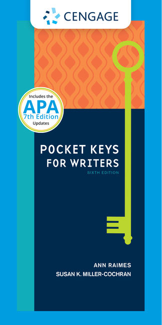 Pocket Keys for Writers, Spiral bound Version